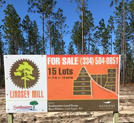 Lindsey Mill - Lot 3 - Covington County, Alabama